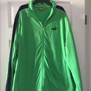 Men's Puma warm up jacket
